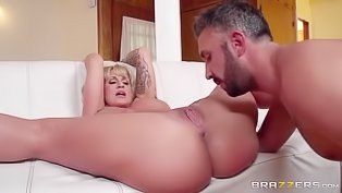 MILF fucks her daughter's boyfriend