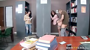 Brunette MILF gets screwed in the office