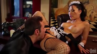 Hot Asa Akira screws her man