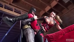 Strong Batman is fucking slutty chick