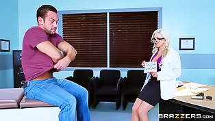 Hot doctor is getting fucked wildly