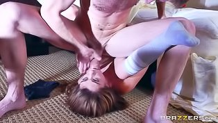 Awesome lady is getting banged deep