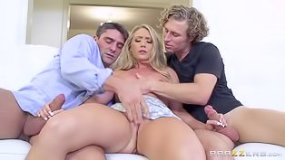 AJ Applegate gets double penetrated
