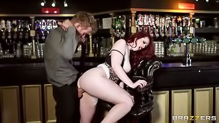 Redhead MILF gets drilled wildly