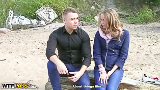 Remarkably passionate sex on a beach