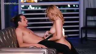 Cute blonde loves wild sex on camera