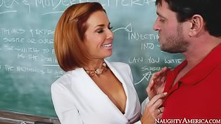 Hot teacher is getting fucked hard