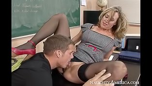 Wild teacher is getting fucked