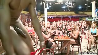 Dirty strippers are fucking slutty babes