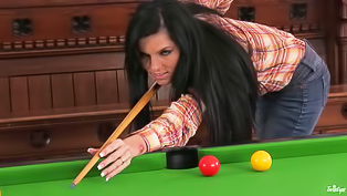 Playing billiards and having solo