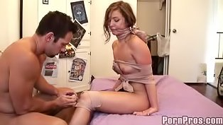 BDSM fuck session for ginger slut