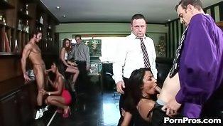 Huge cumshot surprise porn pros