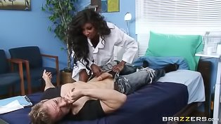 Erik Everhard fucks a ebony darling