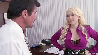 Office whore is being banged hard
