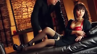 Kinky Asian babe gets penetrated