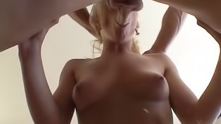 Sweet blonde woman gets penetrated