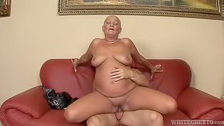 Chubby MILF is getting penetrated