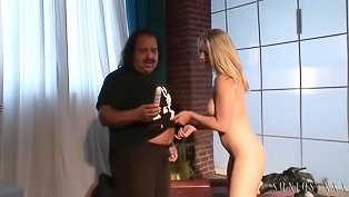 Wild blonde is enjoying hardcore sex