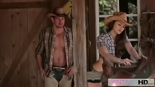 Lustful cowgirl is getting fucked hard